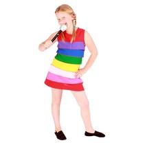 Regenboog jurkje kind