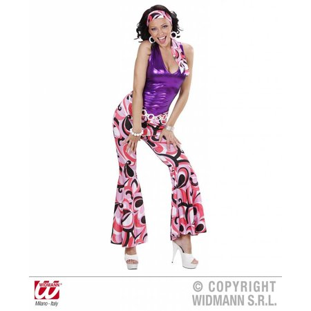 Hippie Disco verkleedkostuum vrouw
