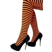 Panty streep oranje/zwart