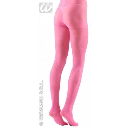 Panty 40den glitter roze