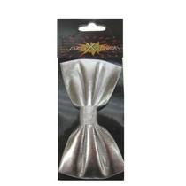 Vlinderstrik Zilver