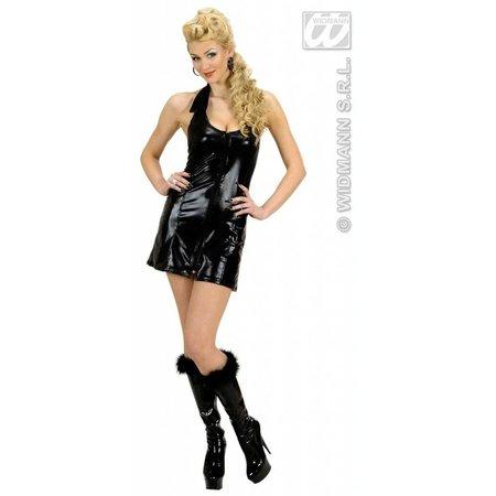 Zwarte jurk met ritssluiting