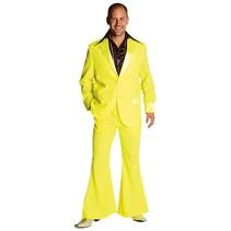 Gala feestkleding man fluor geel