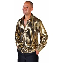 Blouse metallic goud elite