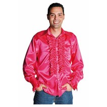 Rouches blouse luxe pink
