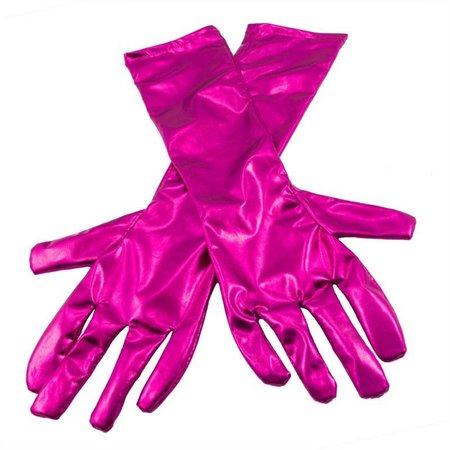 Handschoenen Metallic Magenta