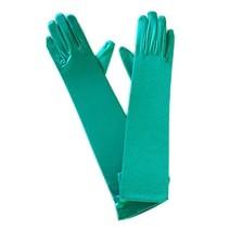 Handschoenen lang groen