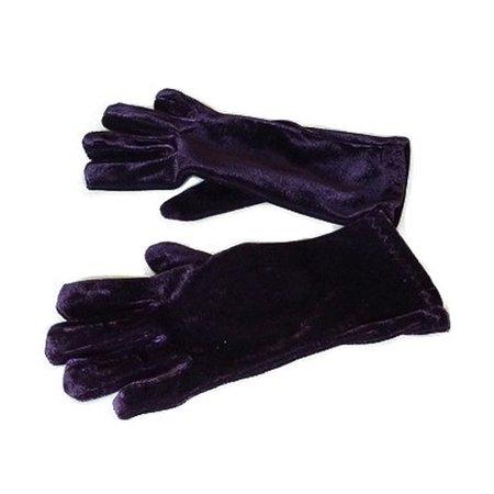 Handschoenen kort velours