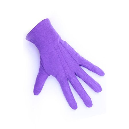 Handschoenen Sinterklaas kort paars