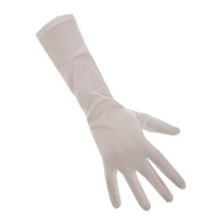 Handschoenen stretch wit luxe nylon