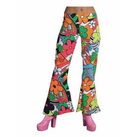 Hippie broek dames Woodstock new