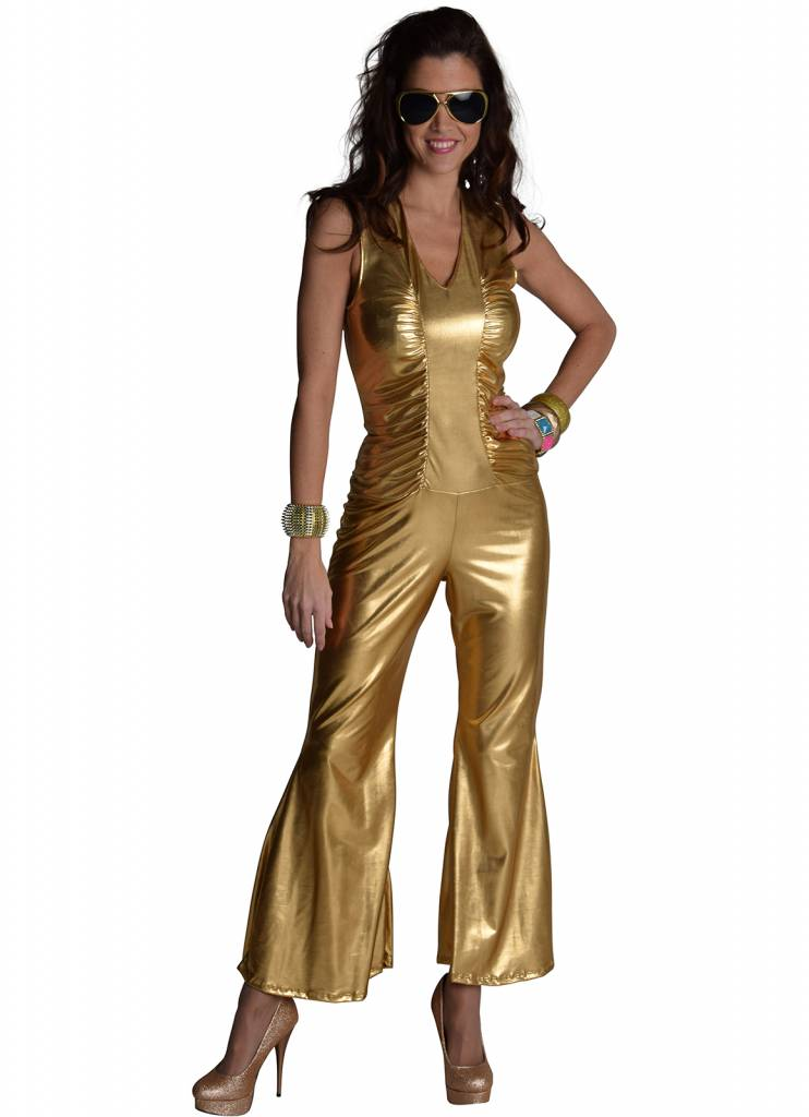 33b9af32dc1 Disco Toppers catsuit goud | Discokleding.com