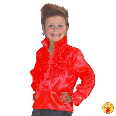Disco shirt kind rood