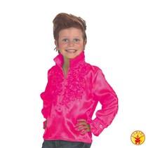 Disco shirt kind baby roze