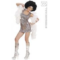Disco Diva jurkje holografisch