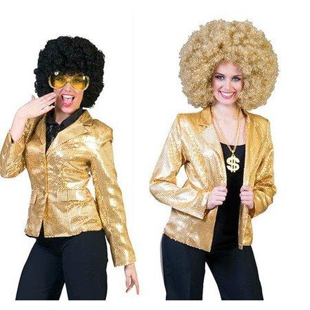 Disco jasje goud