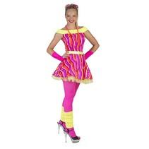 Neon dance queen jurk dames