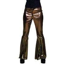 Gouden broek dames stretch