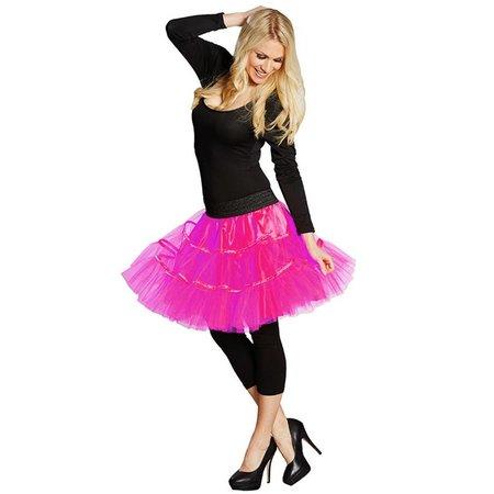 Petticoat rok neon roze