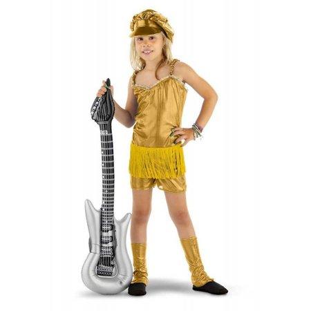 Rocker Popster girl pakje goud