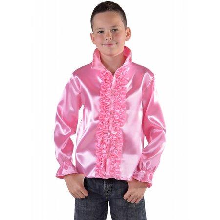 Disco blousje kind roze