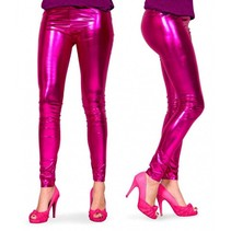Legging Metallic Magenta