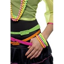 Neon kralen armbanden