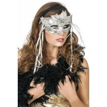 Masker venetiaans zilver