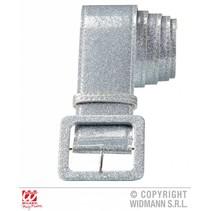 Riem zilver glitter