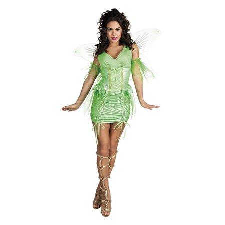 Groene Fee sexy kostuum