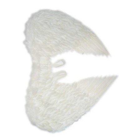 Engelen vleugels wit veren volwassen