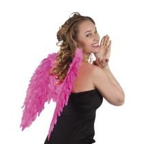Engelen vleugel roze 50x50cm