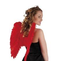 Engelen vleugel rood 50x50cm