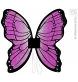 Glittervleugels vlinder 50x50cm
