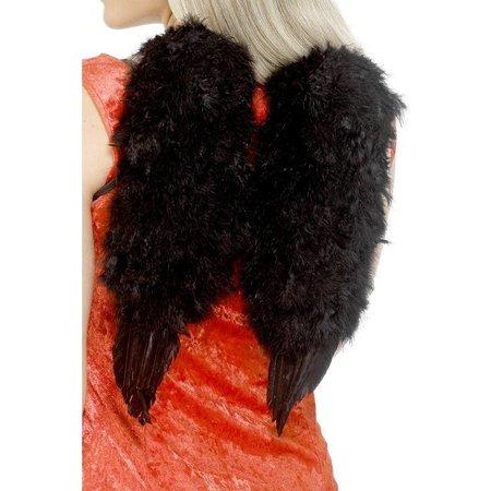Engelen vleugels veren zwart