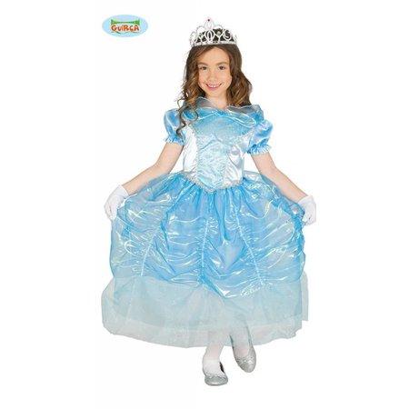Prinsessenjurk Blauw