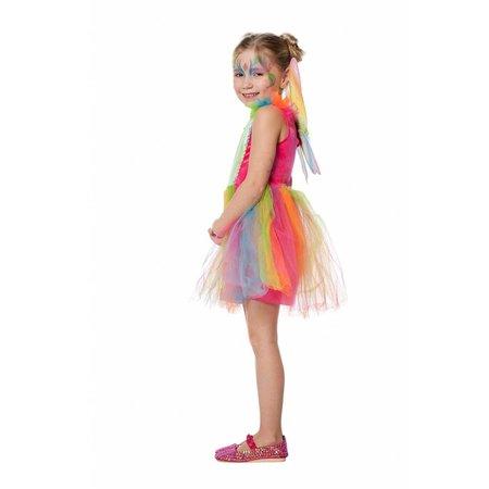 Regenboog feetje kostuum