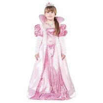 Koningin prinses kostuum kind