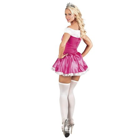 Prom Queen kostuum roze