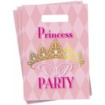 Prinsessen Uitdeelzakjes Party 6 stuks