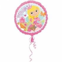 Helium Ballon Happy Birthday Princess 43cm