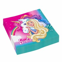 Barbie Servetten Dreamtopia 20 stuks