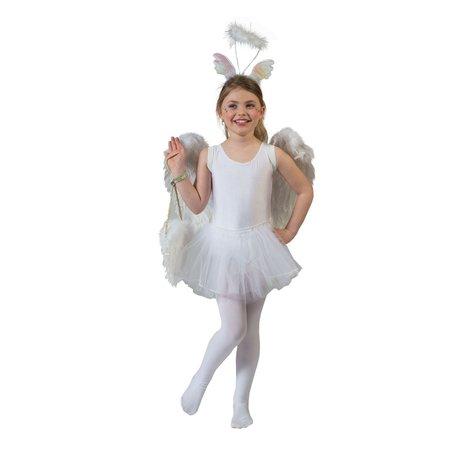 Ballerina jurk wit kind