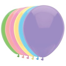 Ballonnen Pastel mix 10 st. 30 cm