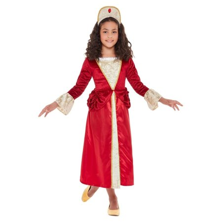 Tudor Prinsessenjurk Rood