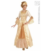 Gouden prinses kostuum de luxe