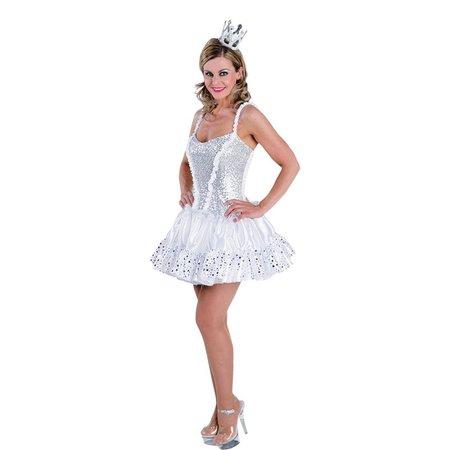 Ijsprinses jurk vrouw elite