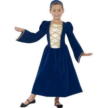 Tudor Prinsessenmeisje kostuum