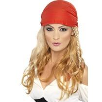 Pruik piraten prinses