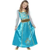Middeleeuwse prinsessen kostuum